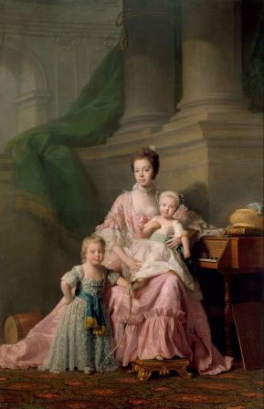 allan_ramsay_-_queen_charlotte_1744-1818_with_her_two_eldest_sons_-_google_art_project