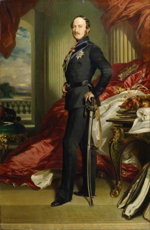 NPG 237; Prince Albert of Saxe-Coburg-Gotha replica by Franz Xaver Winterhalter