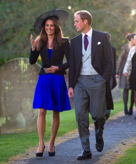 Prince William and Kate Middleton engaged to be married in 2011