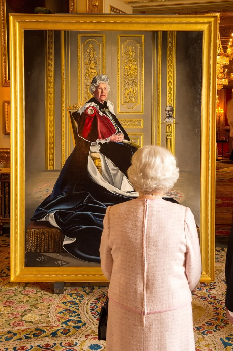 Royal portrait unveiled