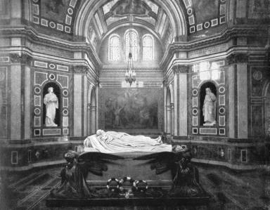The royal mausoleum, Frogmore, 1901.Artist: HN King
