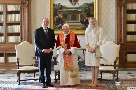 VATICAN-POPE-MONACO-PRINCE