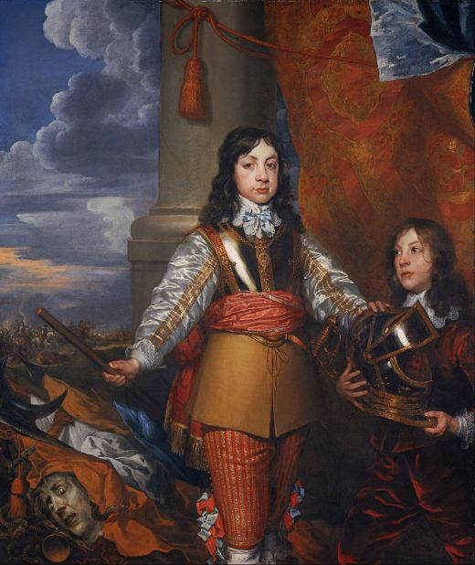 William_Dobson_-_Charles_II,_1630_-_1685._King_of_Scots_1649_-_1685._King_of_England_and_Ireland_1660_-_1685_(When_Prince_of_Wales,_with_a_page)_-_Google_Art_Project.jpg