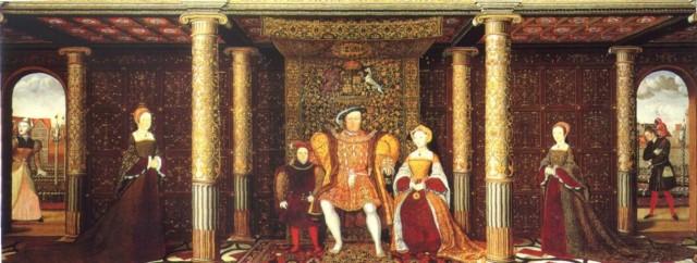 HenryVIIIfamily
