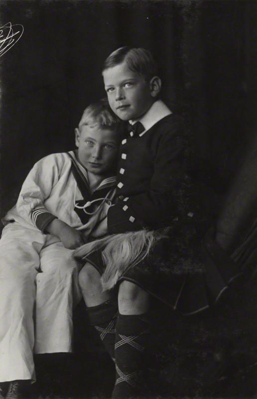 NPG Ax29366; Prince George, Duke of Kent; Prince John by Lafayette (Lafayette Ltd)