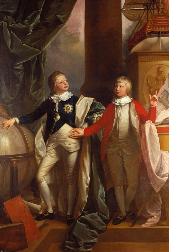Prince_William_and_Prince_Edward_1778