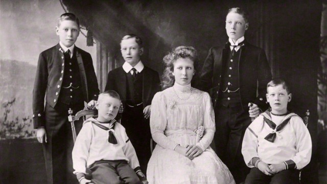 NPG x136042; The children of King George V by W. & D. Downey