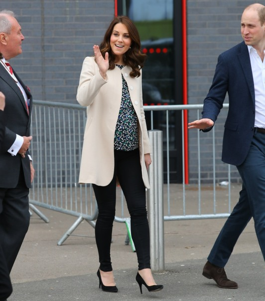 The Duke and Duchess attend a SportsAid event at the Copper Box in the Olympic Park
