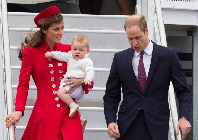 Duke and Duchess of Cambridge visit New Zealand