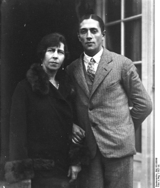 Ehepaar Zoubkoff
