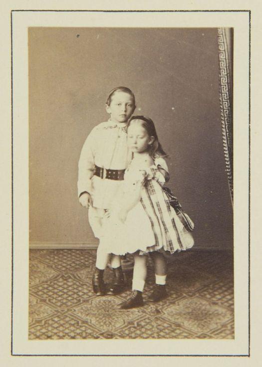 Wilhelm & Charlotte in 1864