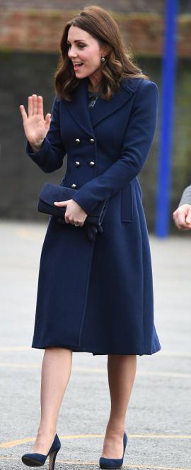 Blue LK Bennett Coat