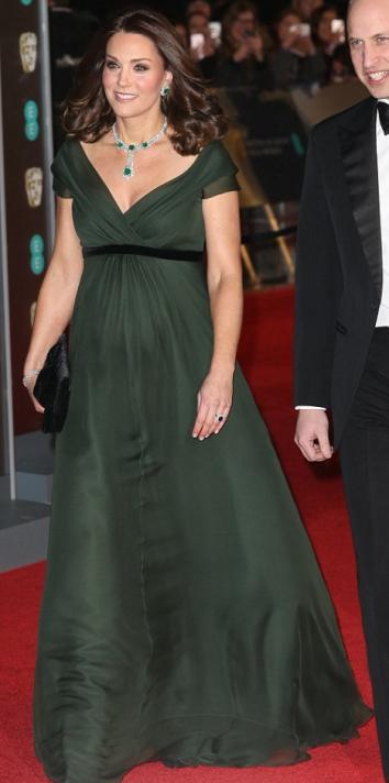Green Alexander McQueen Gown