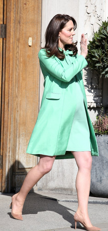 Green Jenny Packham Coat & Dress