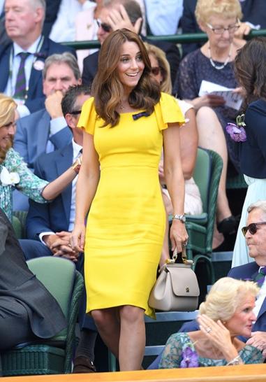 Yellow D&G Dress