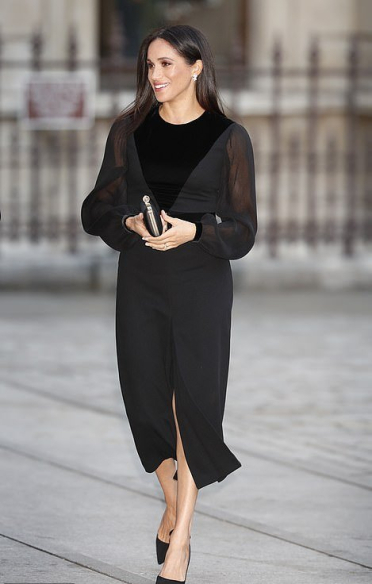 black givenchy dress