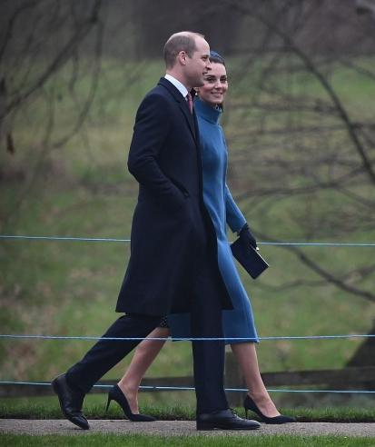 blue catherine walker coat