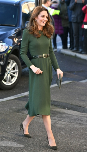 green beulah dress