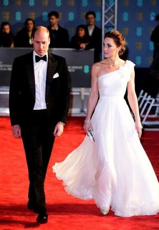 White Alexander McQueen Gown
