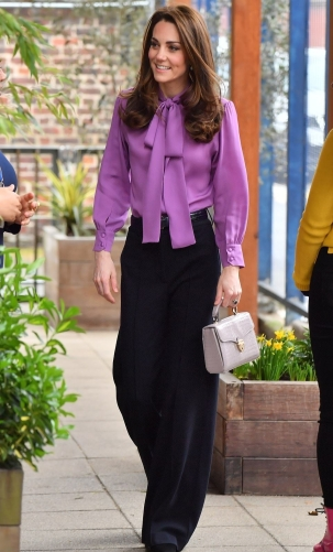 Purple Gucci Blouse