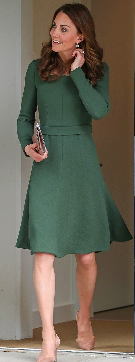 Green Emilia Wickstead